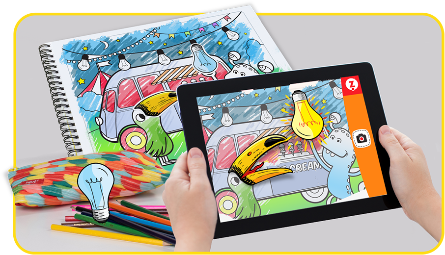 - Interactive Coloring Book Interactive Coloring Pages ZIPIT