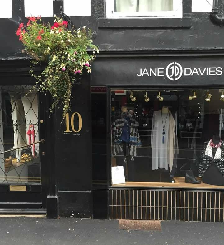 Jane Davies Store front