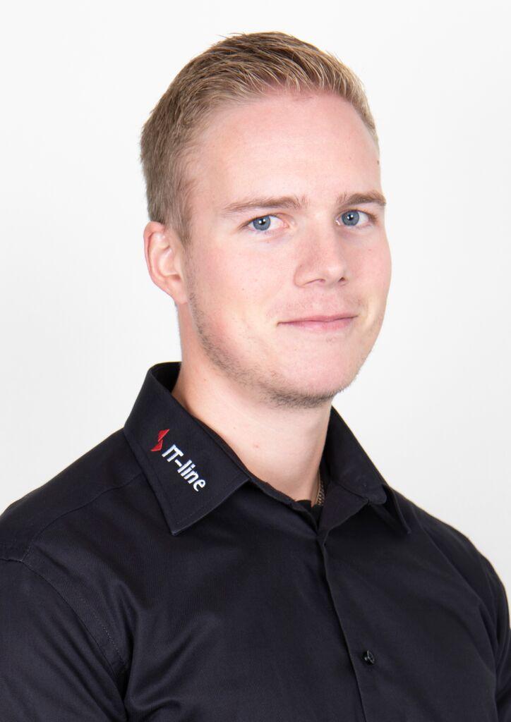 Mekaniikkasuunnittelija Janne Tapio IT-Line