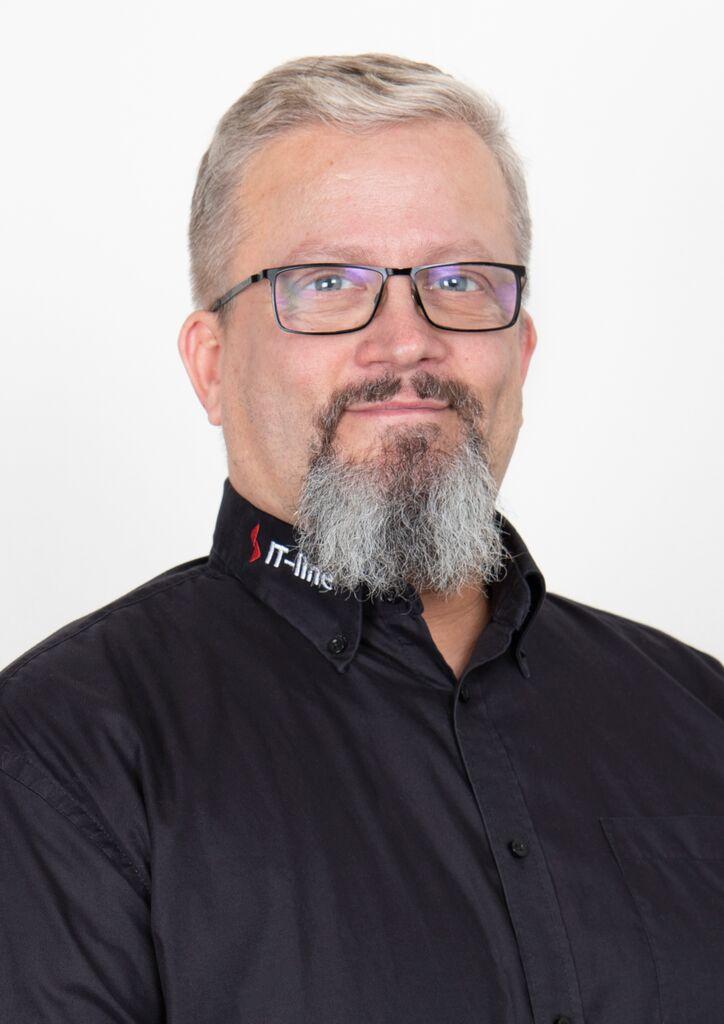 Mekaniikkasuunnittelija Jonas Fältmarsch IT-Line