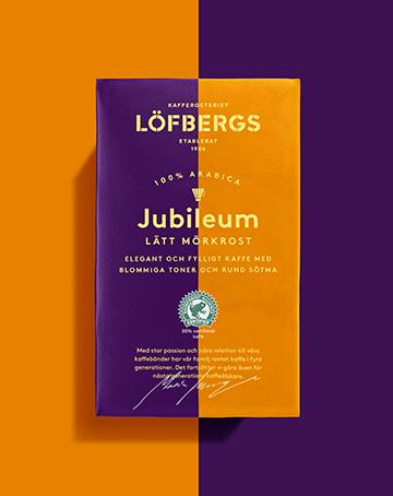 Löfbergs JUBILEUM RA - LÄTT MÖRKROST Filtermalt 450 g