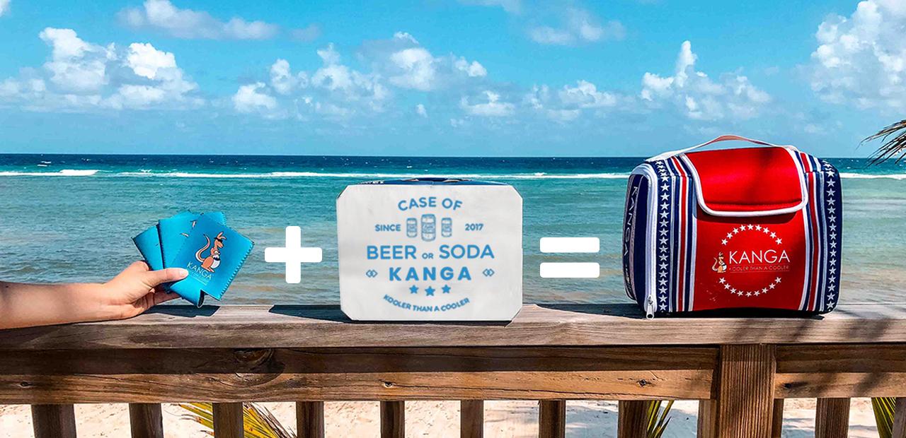 Koozie + Case = Kase Mate