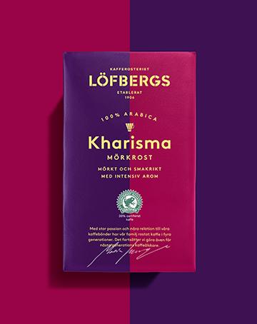 Löfbergs KHARISMA RA MÖRKROST Filtermalt 450 g
