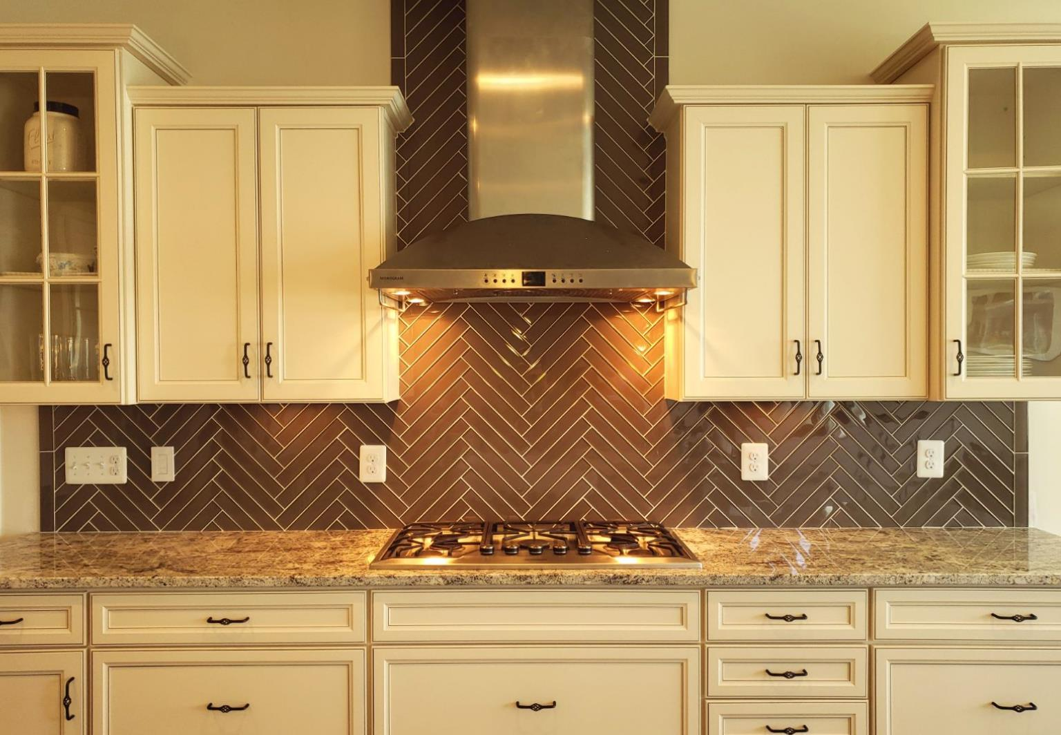 Kitchen backsplash in chantilly va