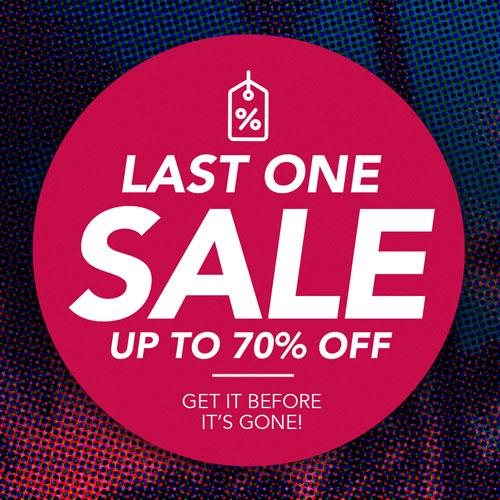 Last One Sale