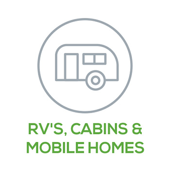 RVs, Cabins & Mobile Homes