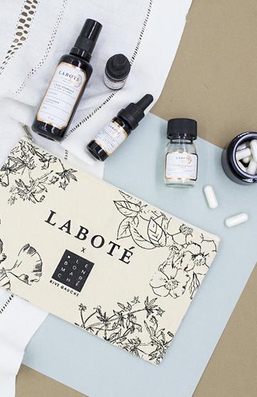 Laboté s'invite au rayon cosmétique du bon marché