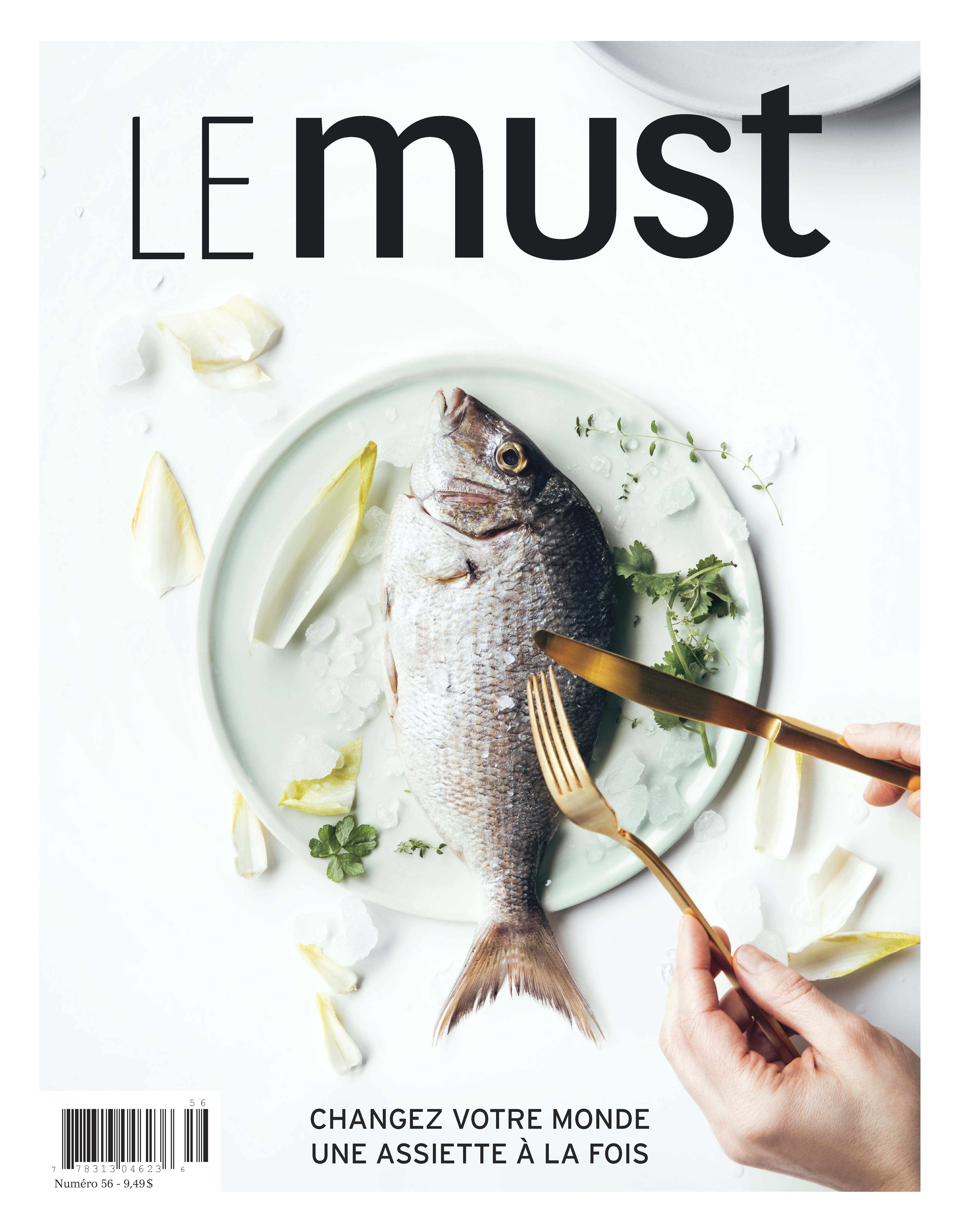 Page couverture du magazine Le Must