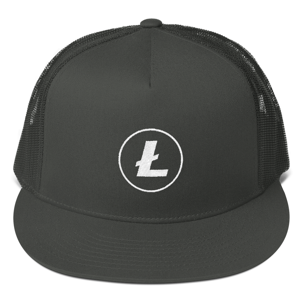 Bitcoin-Clothing-Bitcoin-Hat-Club-Litcoin-Grey-Hat