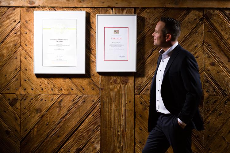 Uwe Traub Destillateurmeister Brennmeister Meisterpreis der Bayrischen Staatsregierung DLG Bundesehrenpreis Spirituosen