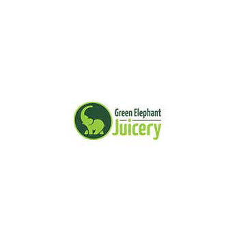 Green Elephant Juicery Logo