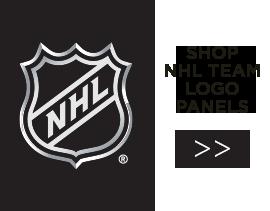 NHL Team Logo Panels