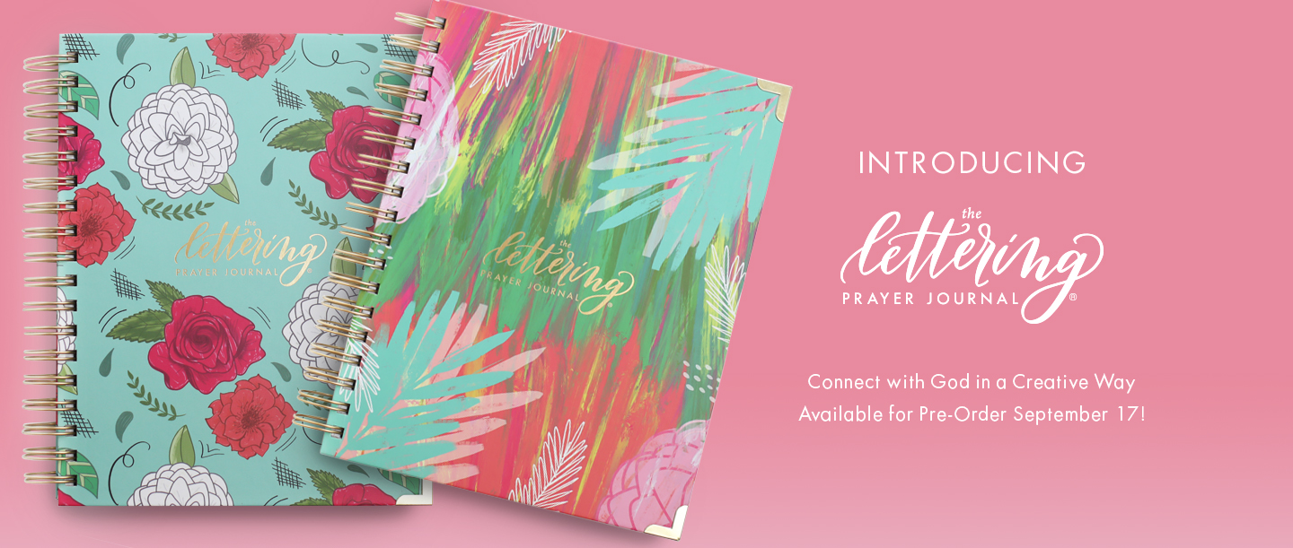 The Lettering Prayer Journal - Information - Krystal Whitten