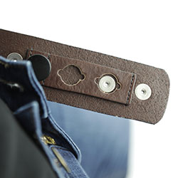 Lynn Taylor Belt, inserted through belt loop