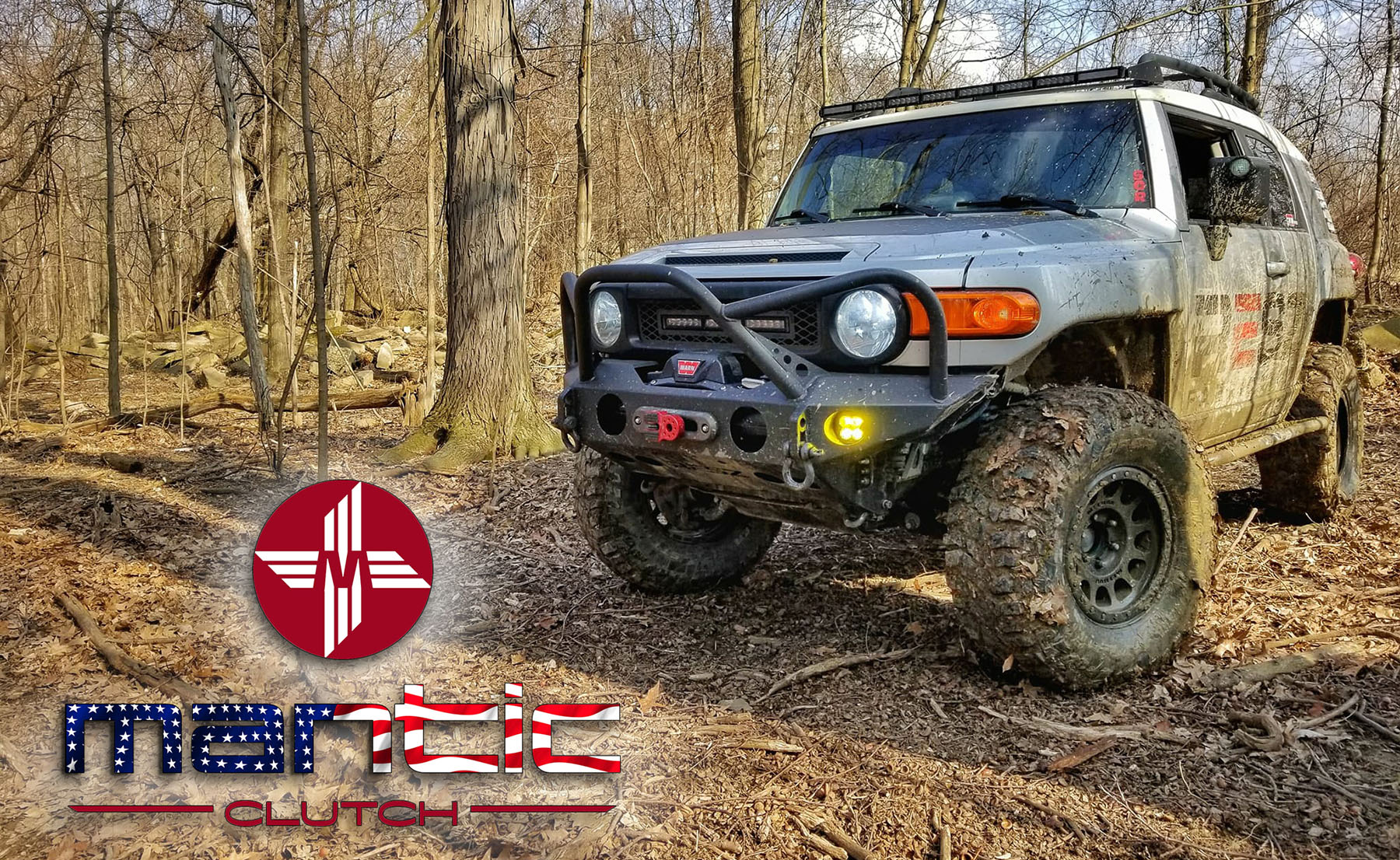 Mantic Clutch USA Truck Jeep