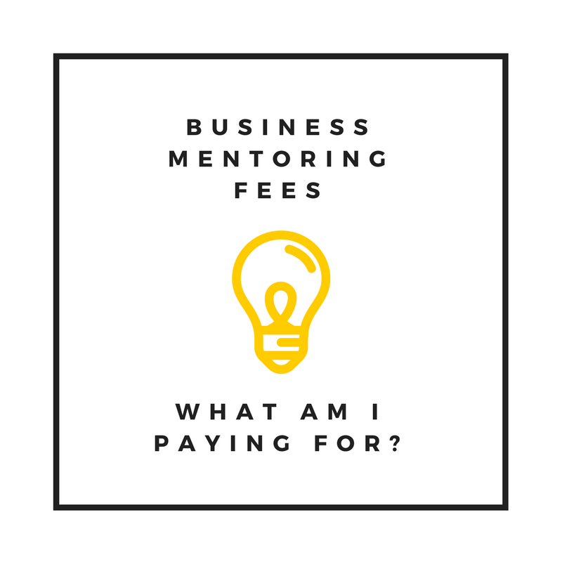 Business Mentoring Fees | What am I paying for?
