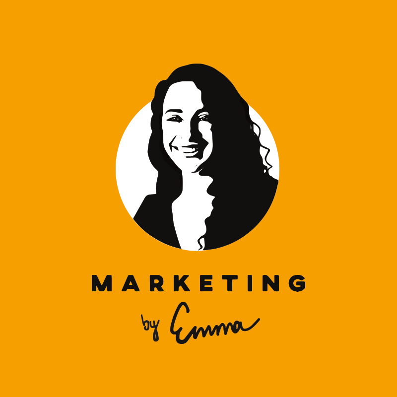 Marketing by Emma brand logo