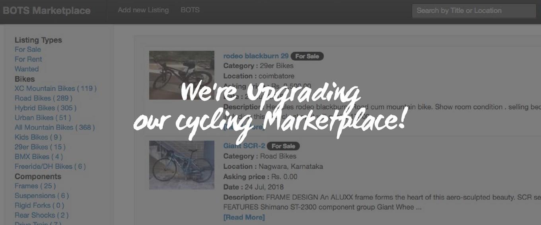 CYCLING Marketplace - BUMSONTHESADDLE