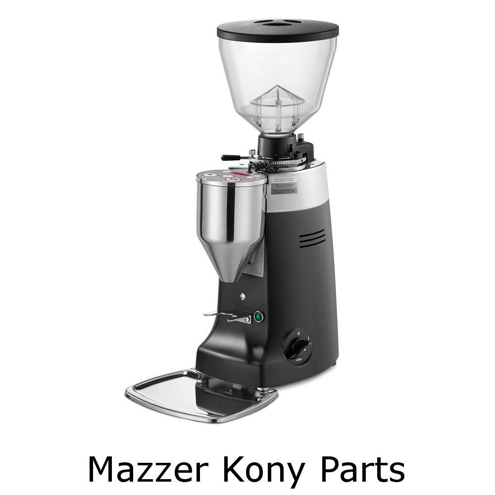Mazzer Kony Grinder Parts - espresso gear canada