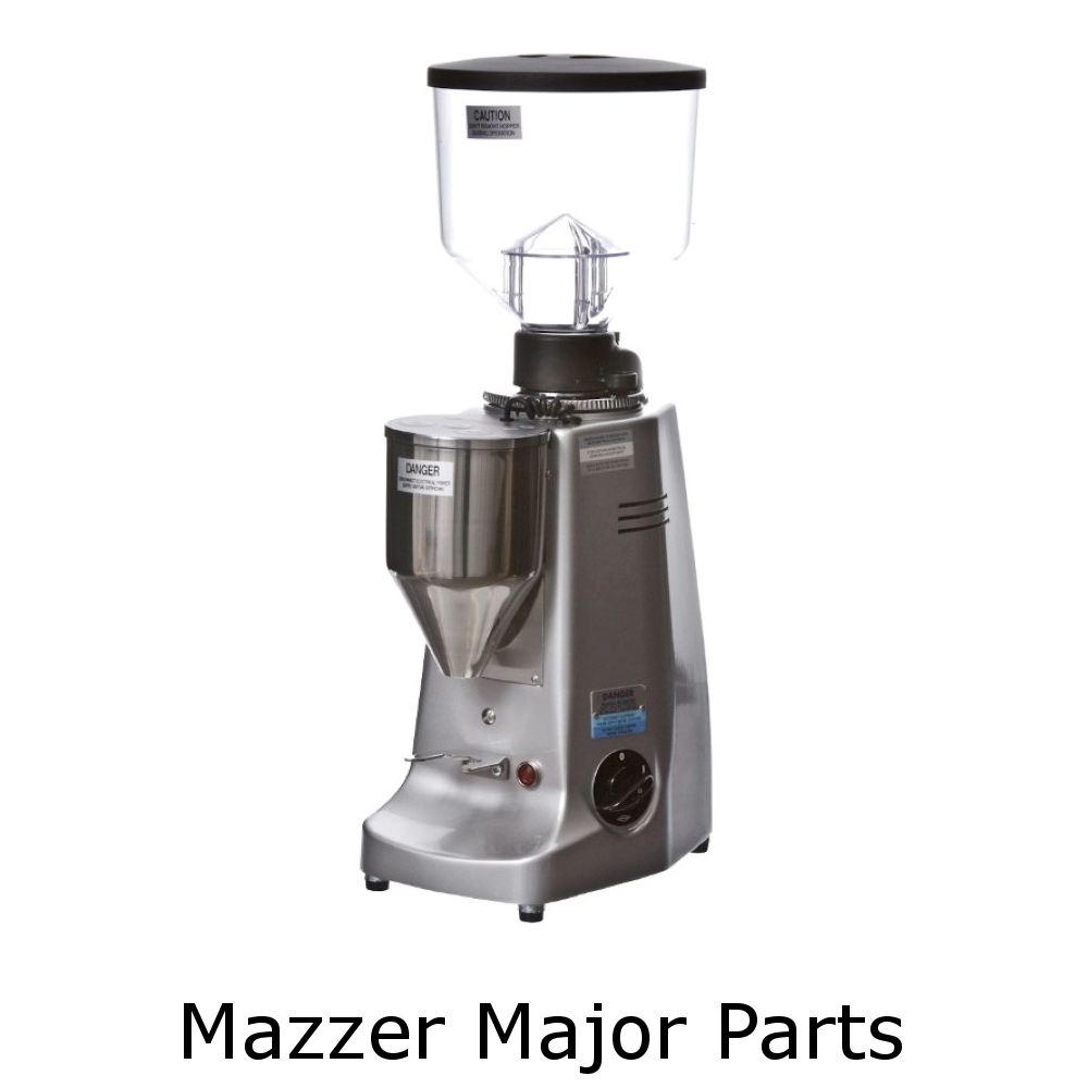 Mazzer Major Grinder Parts - espresso gear canada