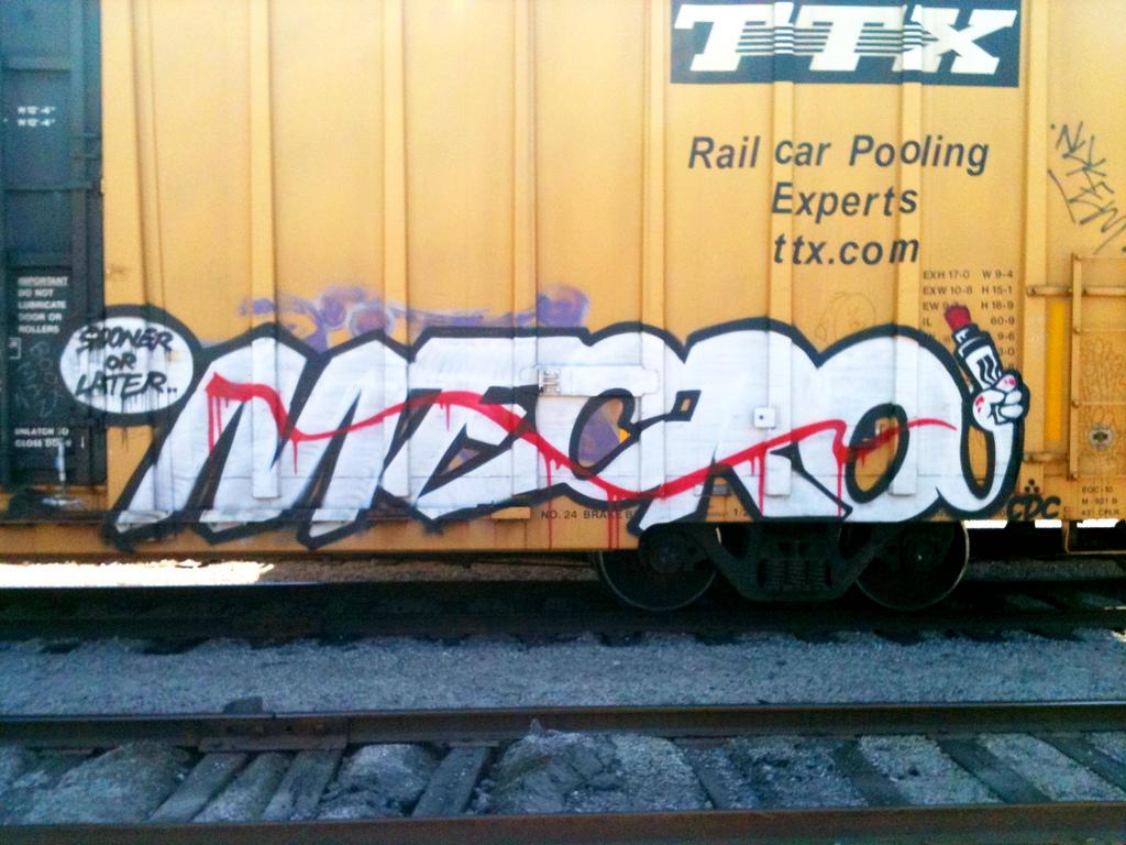 MECRO Freight Graffiti