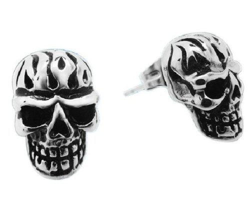 men stud earring