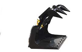 Blue Diamond Mini Track Loader Grapple Bucket