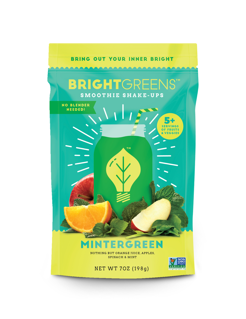 Bright Greens Smoothie Shake Ups Mintergreen
