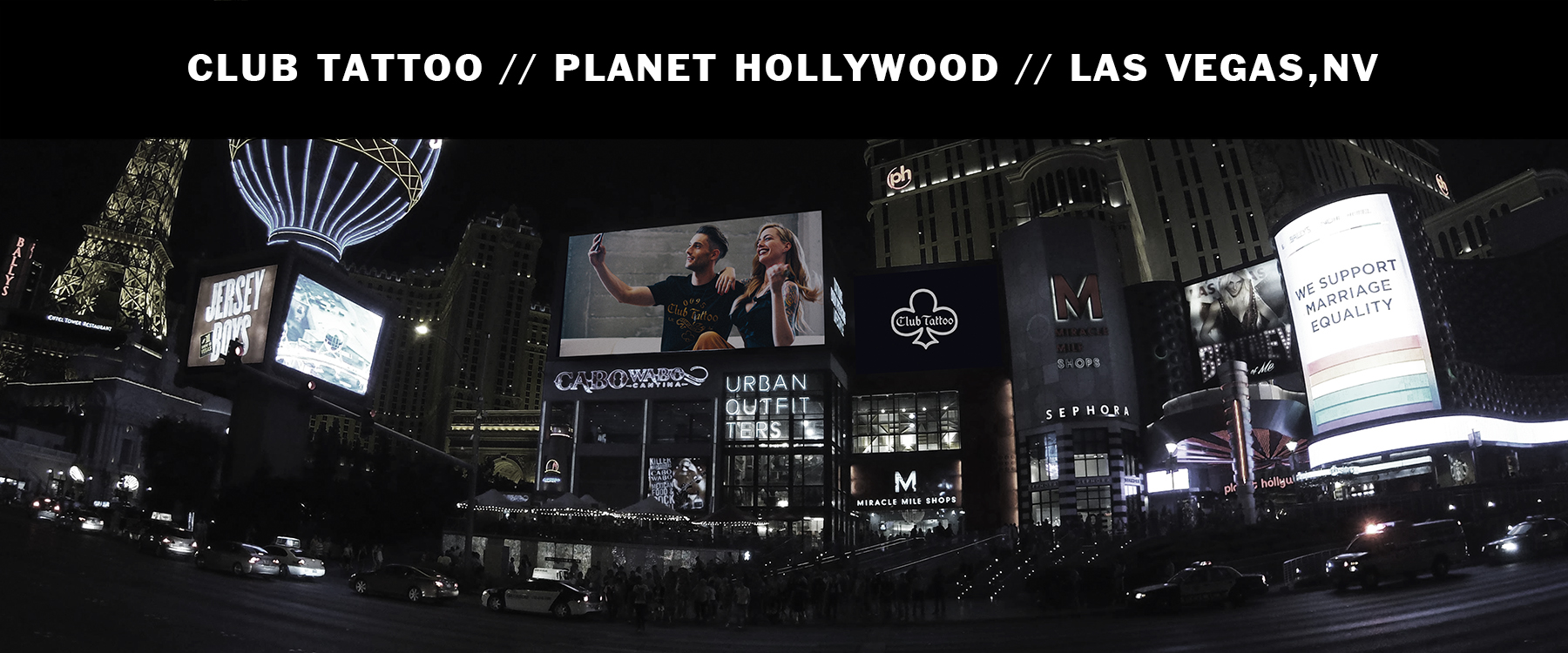 Las Vegas - Planet Hollywood – Club Tattoo