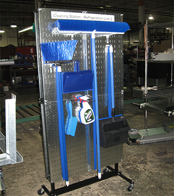 Movable Cleaning Station