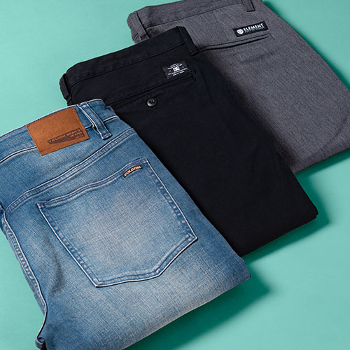 MULTIBUY JEANS AND PANTS - BUY TWO PAIRS AND SAVE £5