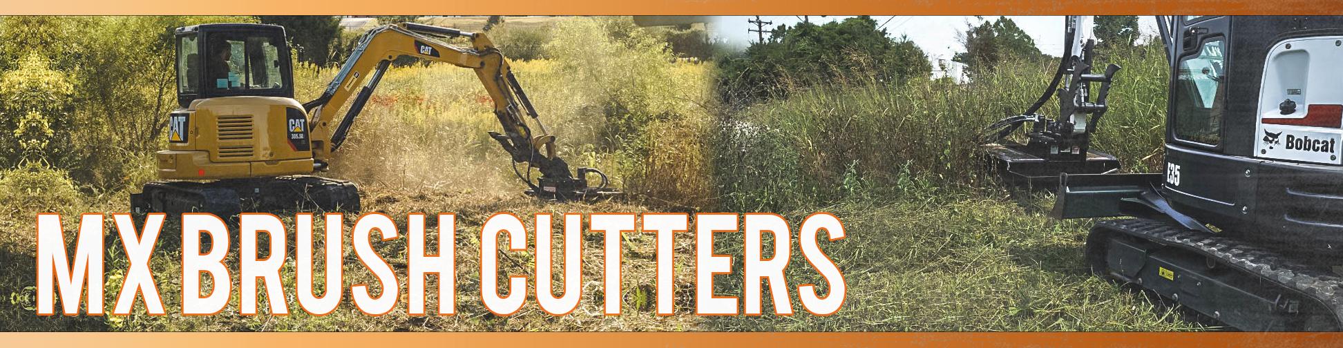 Mini Excavator Brush Cutters