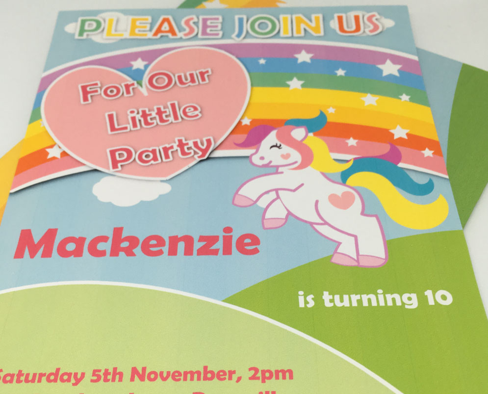 printable my little pony party invitation