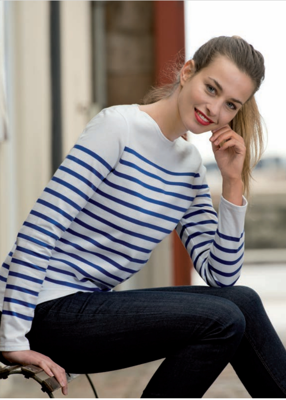 marinière iconic french stripes women