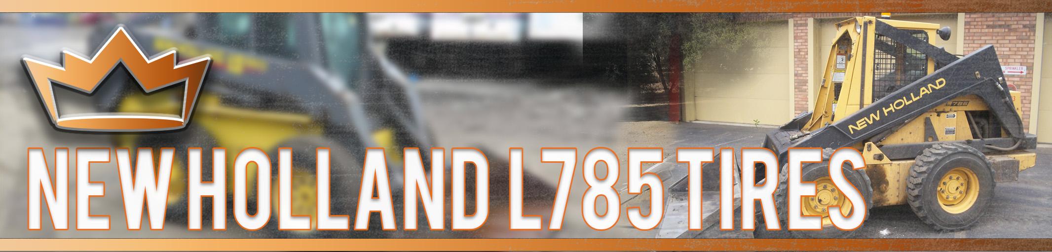 New Holland L785 Tires