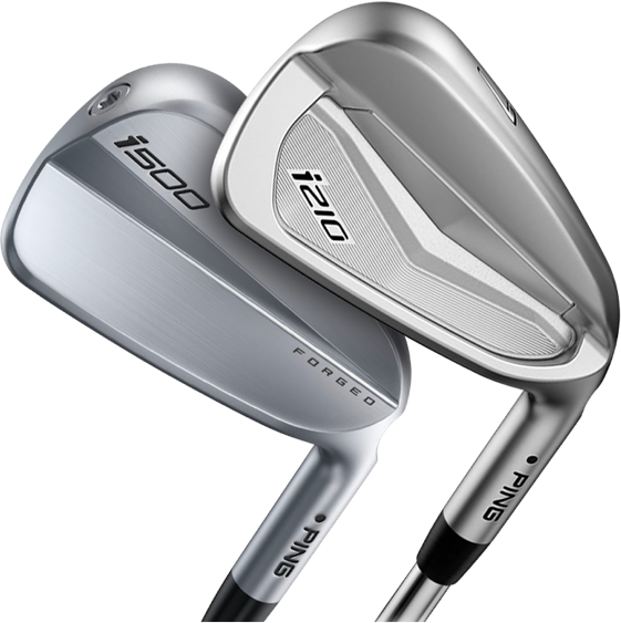 UGolf offers both Ping i500 and Ping i210 irons