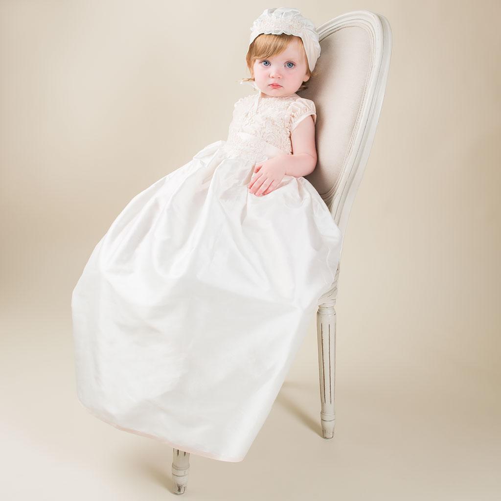 Tessa Girls Convertible Christening Dress Collection