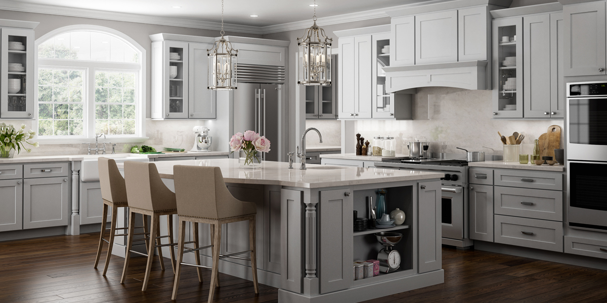 norwich gray shaker - Kitchen Collections