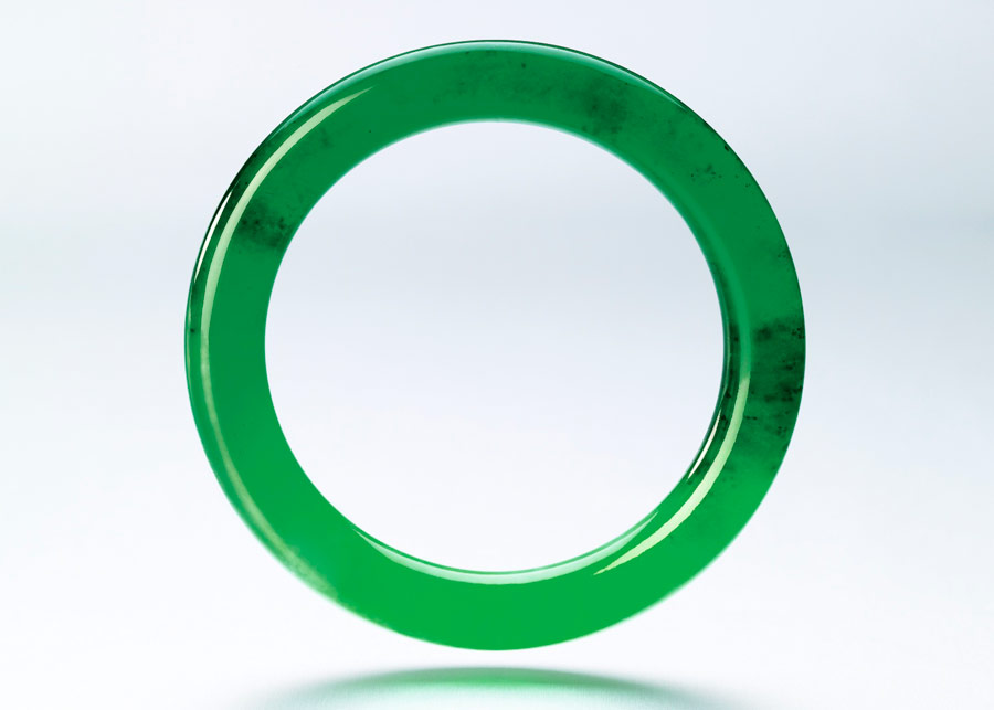 Very high quality exteremy rare jade bangle