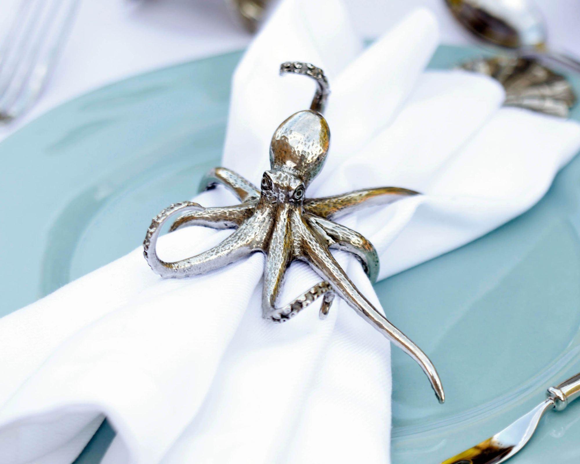 Octopus Napkin Ring