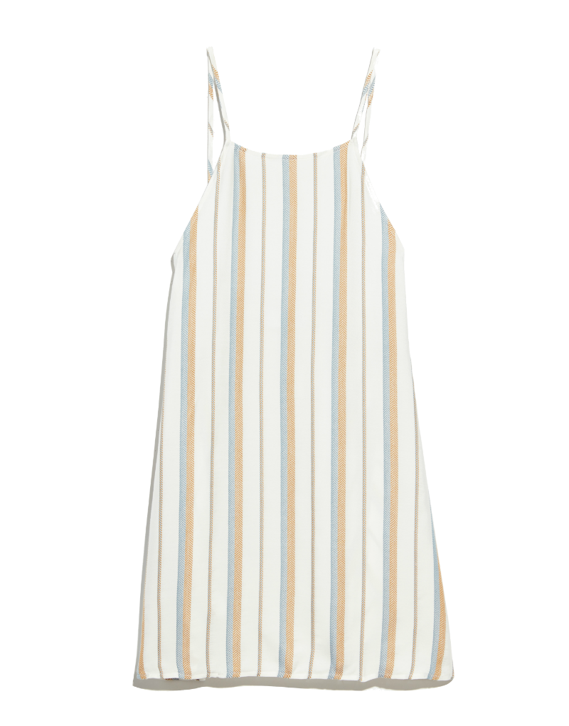 Onia Sasha dress in stripe