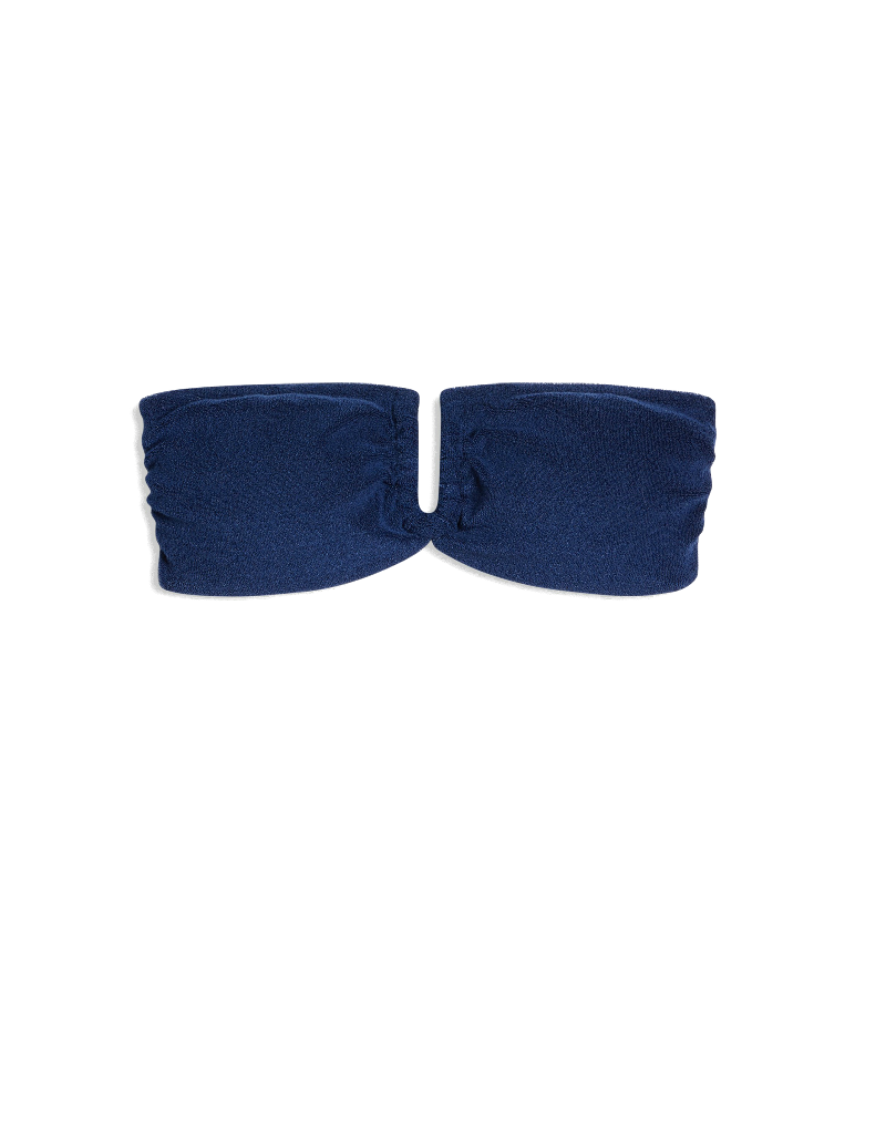 Onia Genevieve strapless bandeau bikini top