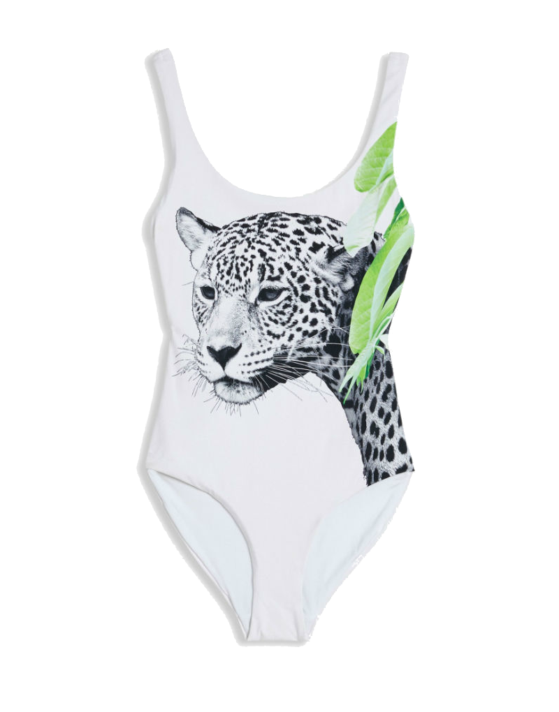 Onia Kelly one piece swimsuit in Jaguar