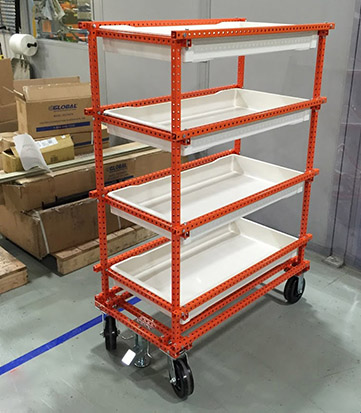 Utility Tote Cart