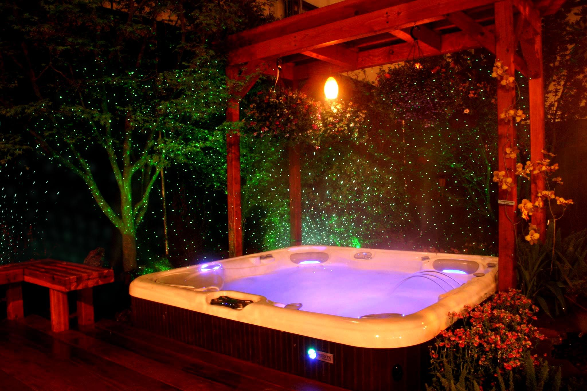 Green FireFly Laser Light for Hot Tub