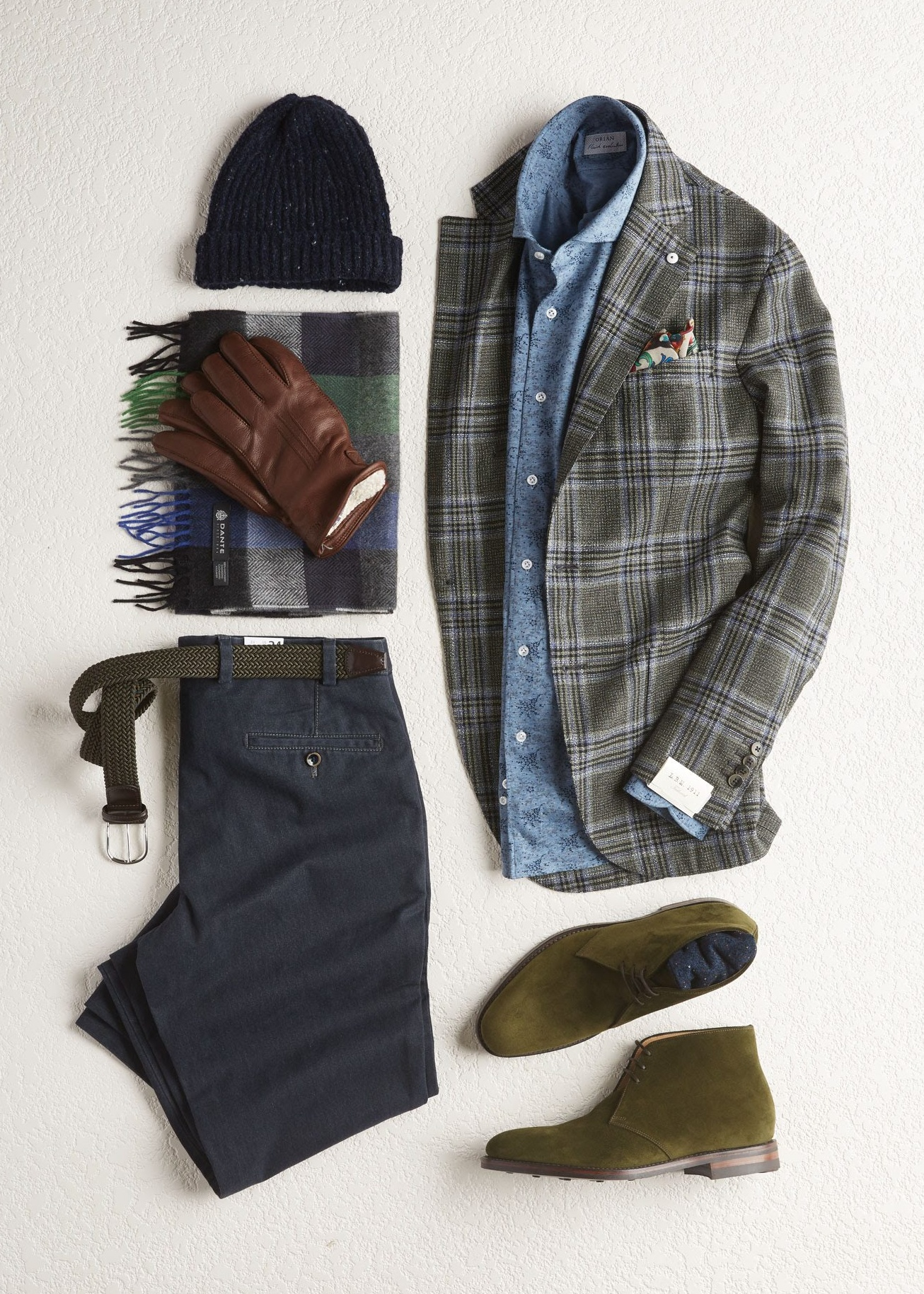 L.B.M. 1911 Green Check Jacket Outfit - LALONDE's