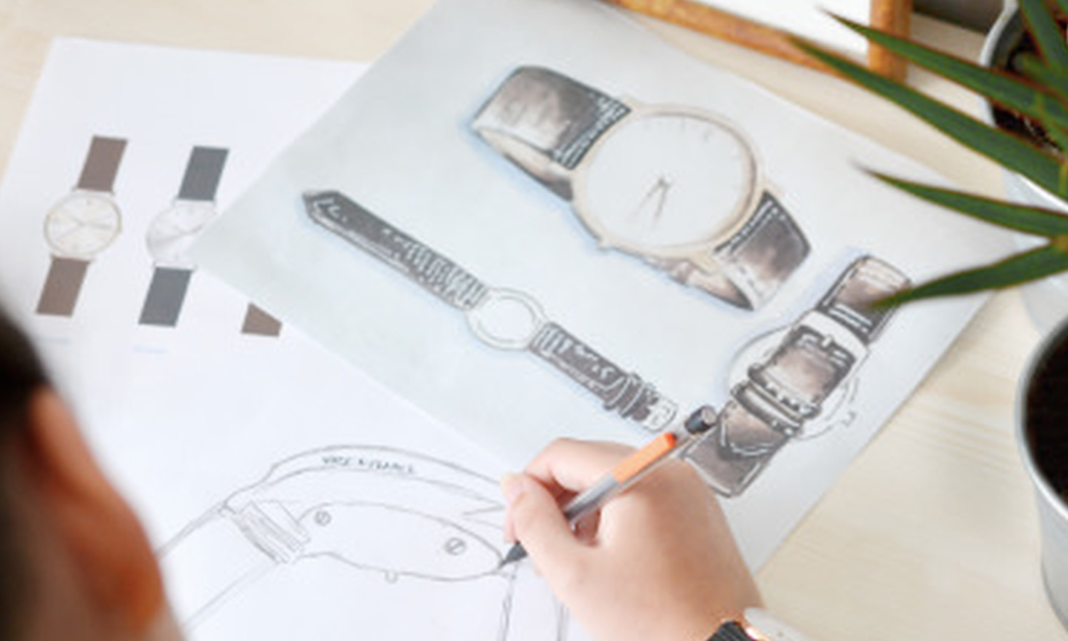 illustration - design of watches