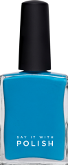 Teal Blue Nail Polish