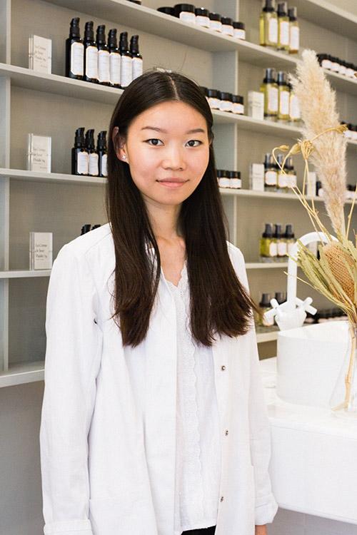 Peiyu Zhu - formulatrice Laboté