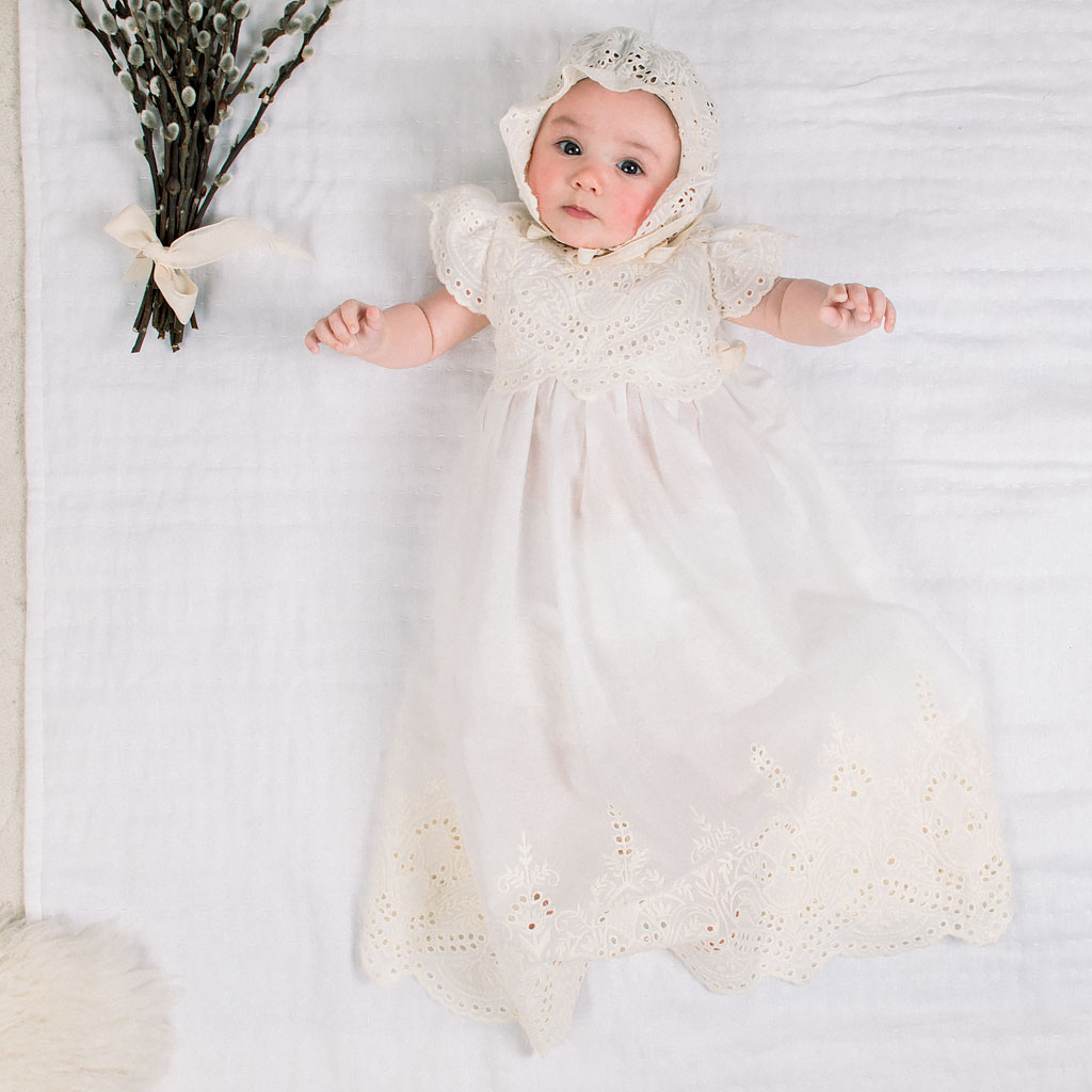 Ingrid Girls Christening Gown Collection